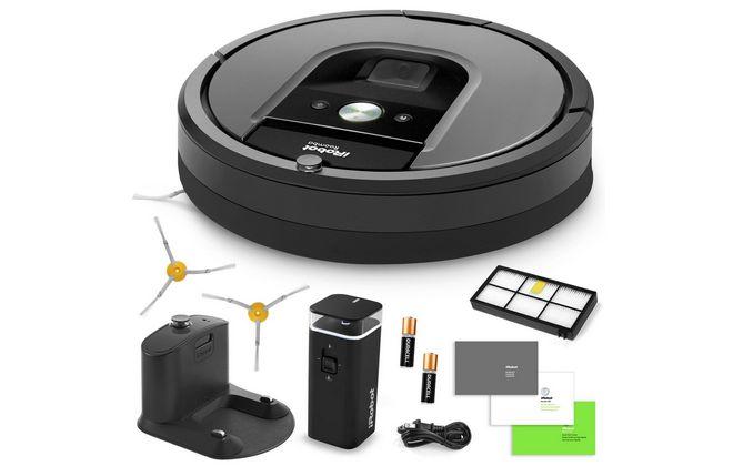 Комплектация пылесоса Roomba