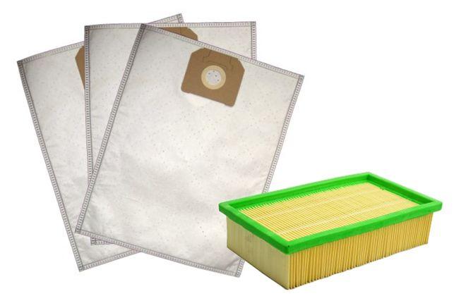 Фильтр и мешки для мусора