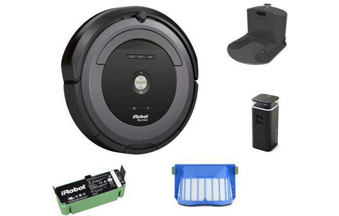 Комплектация модели Roomba 681
