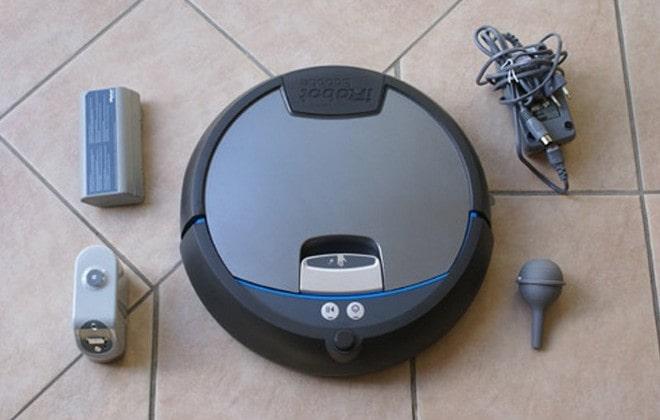 Комплектация уборщика iRobot