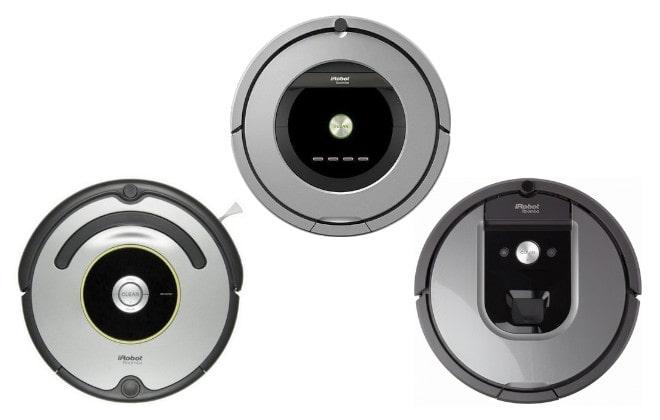 Модельный ряд iRobot