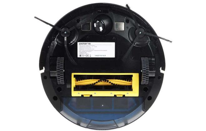 Пылесос робот с обратной стороны