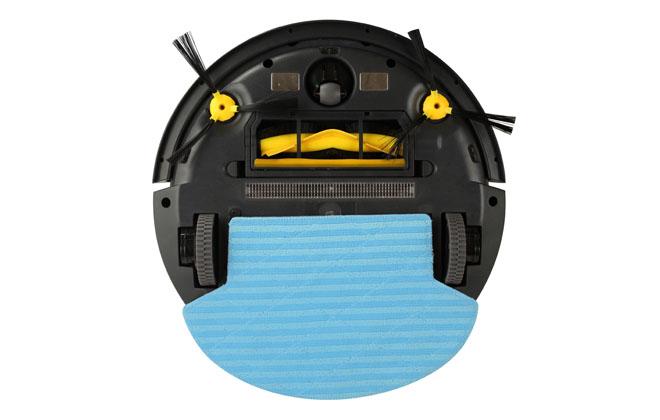 Робот пылесос с обратной стороны