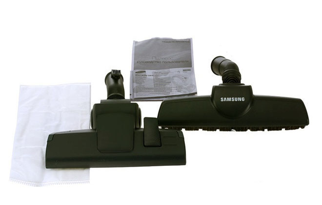 Съемные щетки для Samsung VC20M257AWR