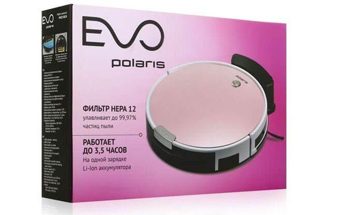 Упаковка от робота-пылесоса Polaris