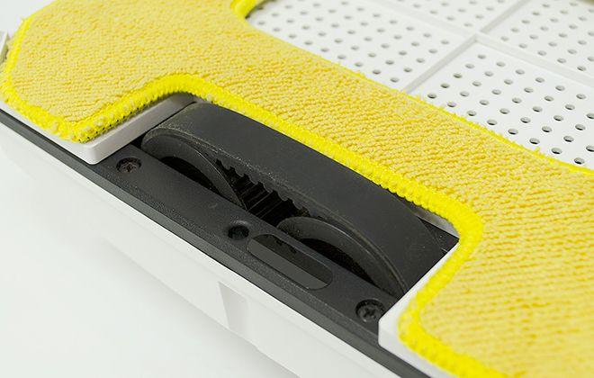 Желтая салфетка
