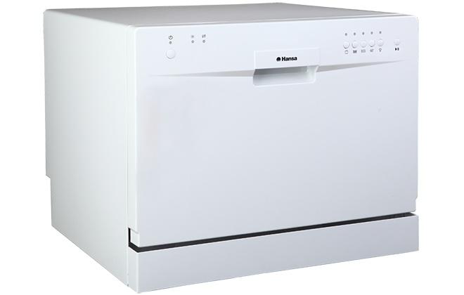 Белая настольная посудомойка Hansa ZWM 515WH