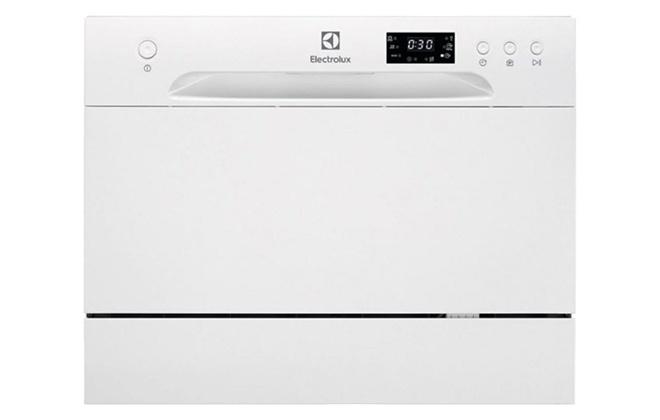 Белая посудомоечная машина Electrolux ESF2400OW