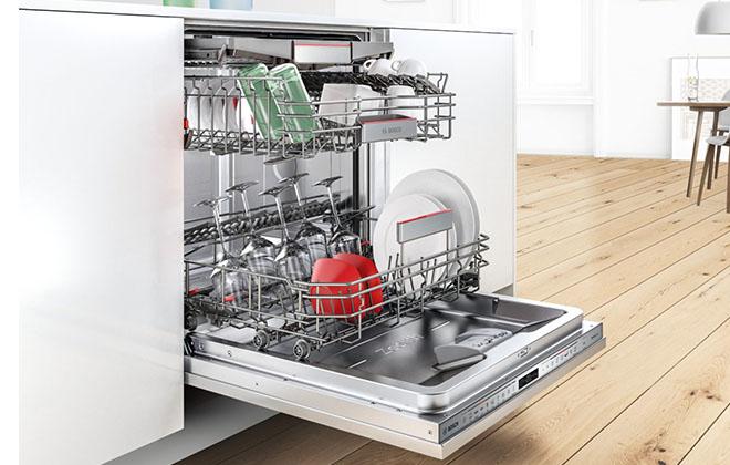 Bosch SilencePlus в интерьере кухни