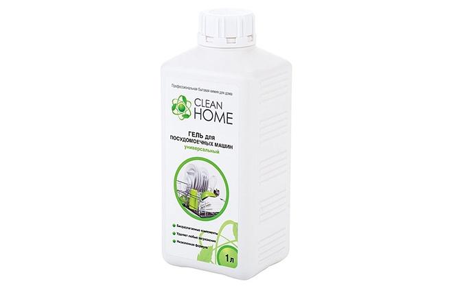Бутылка Clean Home для посудомоечной машины