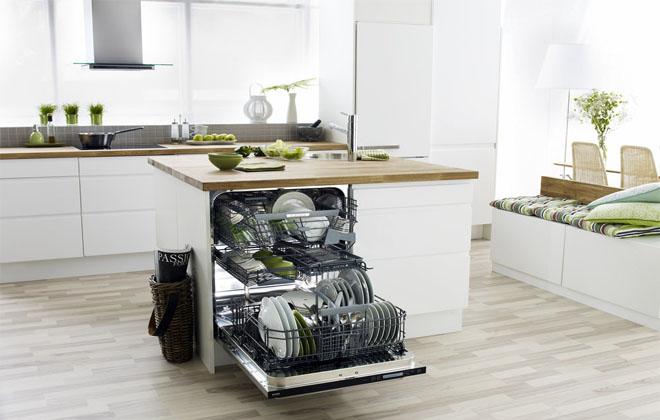 Бытовая техника для посуды в интерьере