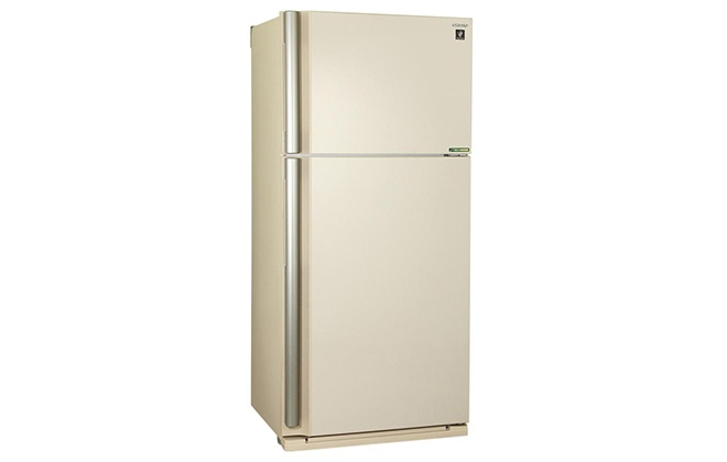 Холодильник молочного цвета Sharp SJ-XE55PMBE