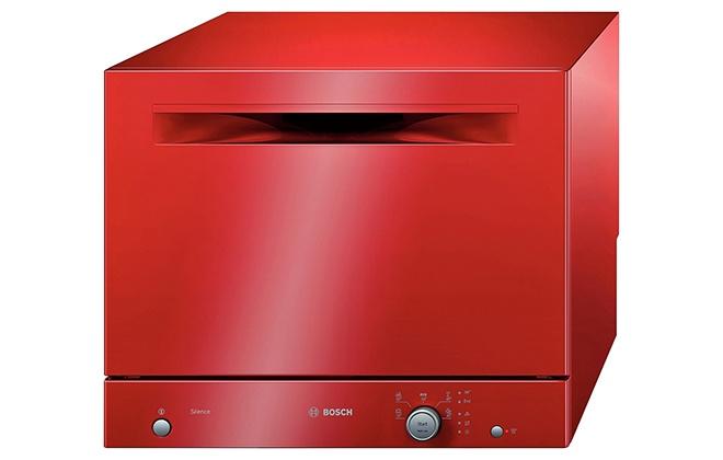 Красная посудомойка Bosch SKS 51 E 01 EU