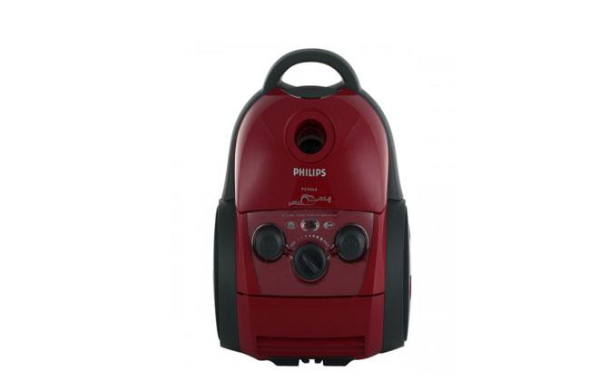 Красный пылесос Philips FC9064