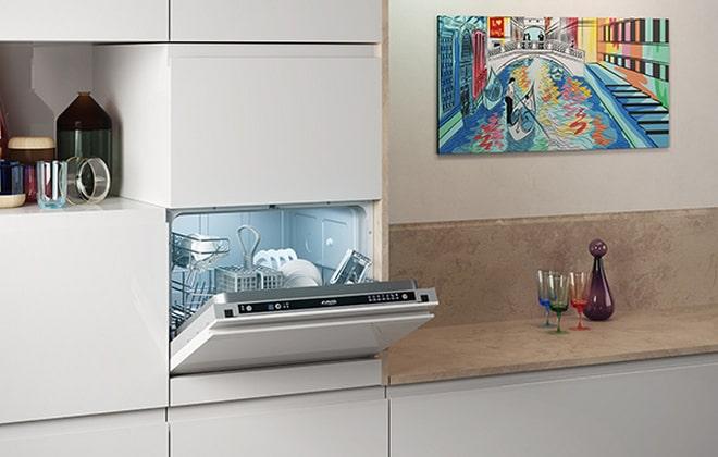 Миниатюрная посудомоечная машина