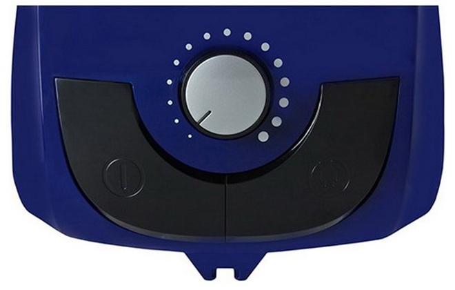 Панель управления синим пылесосом Vitek
