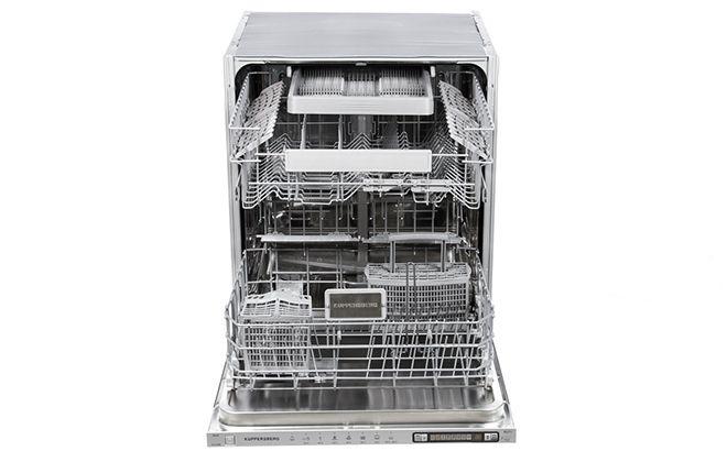 Подставки для посуды внутри посудомойки