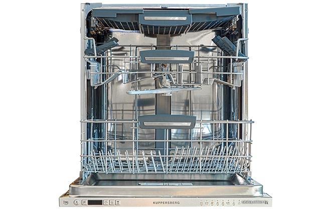 Посудомоечная машина Kuppersberg в открытом виде