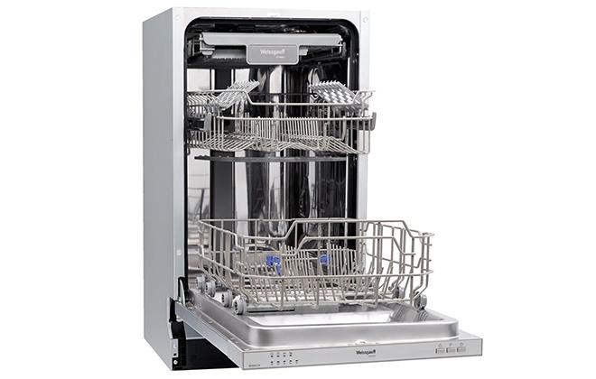 Посудомоечная машина Weissgauff BDW 4124 в открытом виде