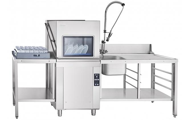 Посудомойка Abat МПК-1100К с умывальником и сушкой для посуды