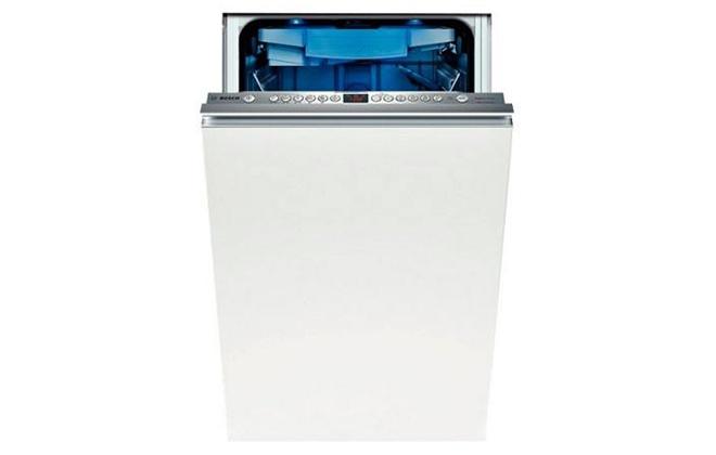 Посудомойка Bosch SPV69t80 с приоткрытой дверцей