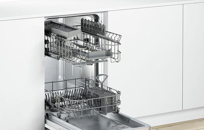 Посудомойка Бош в открытом виде