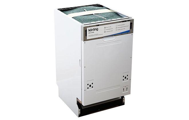 Посудомойка Korting KDI 4540 без верхней панели для дверцы