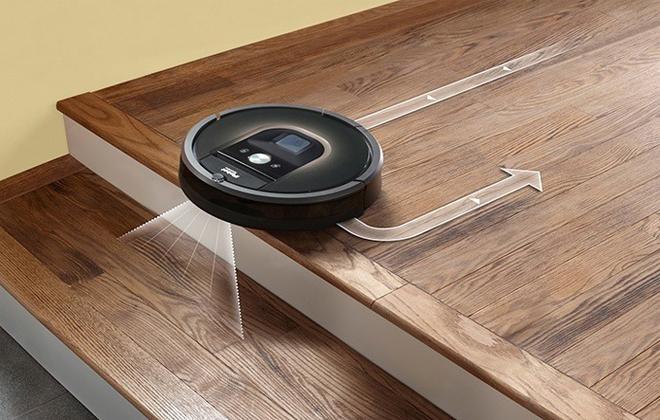 Принцип работы iRobot Roomba
