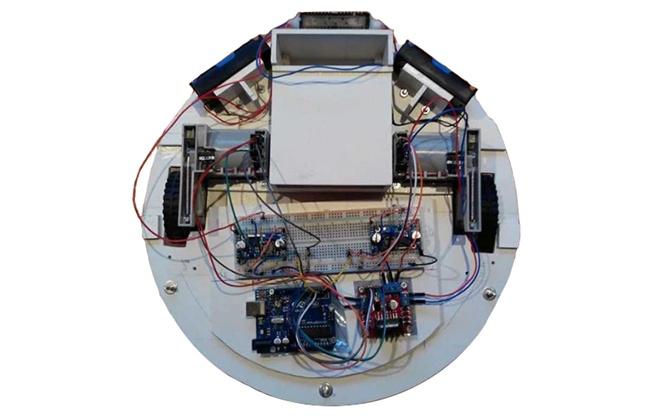Самодельный робот-пылесос