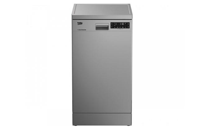 Серебристая модель Beko DFS 28020 X