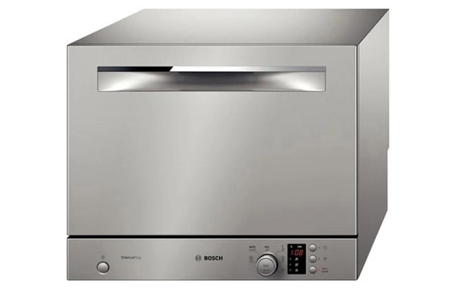 Серебристая посудомойка Activewater Smart serie 4 SKS62E88