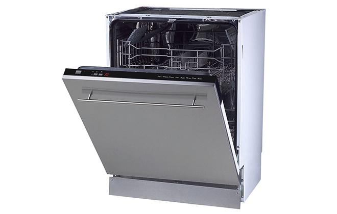 Серебристая посудомойка Zigmund Shtain DW 896003 X