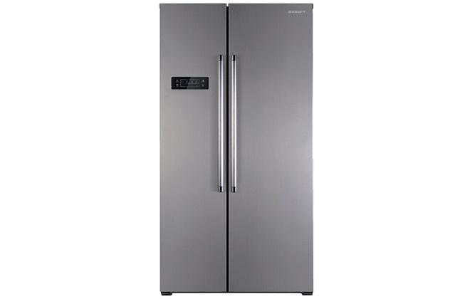 Серый холодильник Kraft KF-F2660NFL