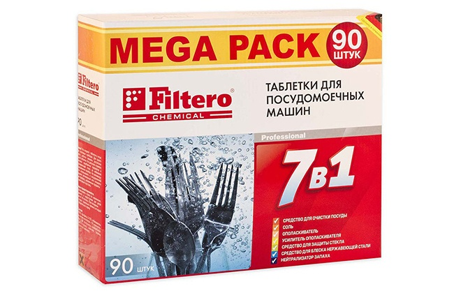 Упаковка Filtero 7 в 1