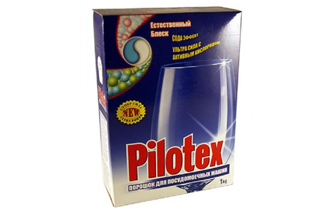 Упаковка порошка Pilotex