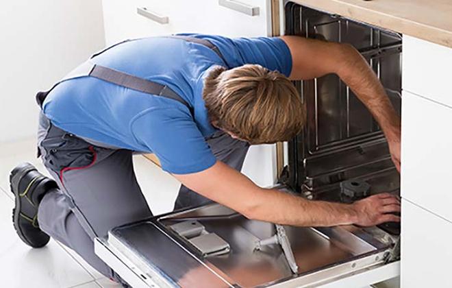 Установка посудомоечной машины