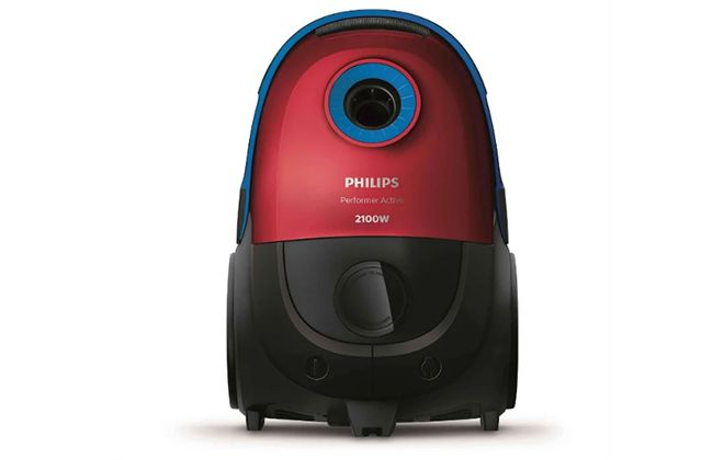 Верхняя панель модели красного цвета Philips FC8589