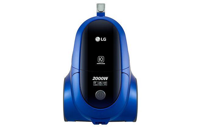 Верхняя панель синего пылесоса LG