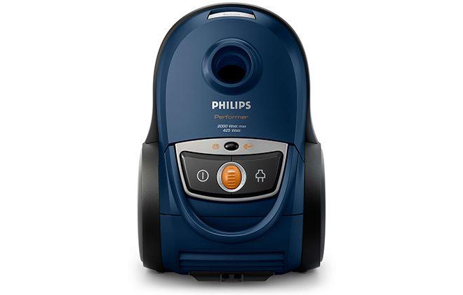 Верхняя панель синего пылесоса Philips