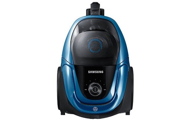 Верхняя панель синего пылесоса Samsung