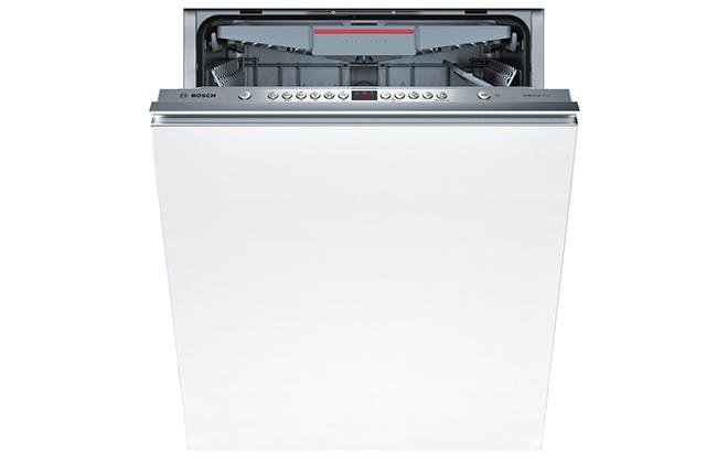Встраиваемая белая посудомойка Bosch Serie 4 SMV46KX00 E