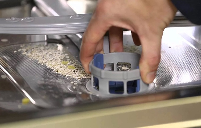 Засор фильтра посудомоечной машины