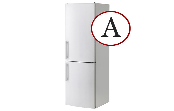 Белый двухкамерный холодильник