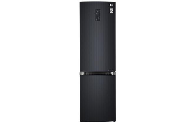 Черный холодильник LG GA-B499TGLB