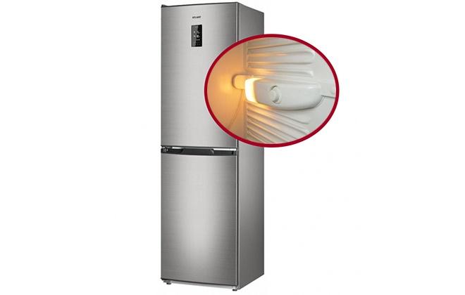 Двухдверный холодильник Atlant