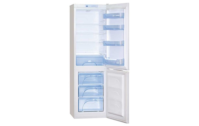 Двухкамерный холодильник Atlant с открытыми дверками