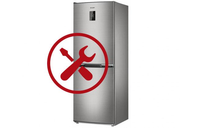 Холодильник Атлант с неисправностями