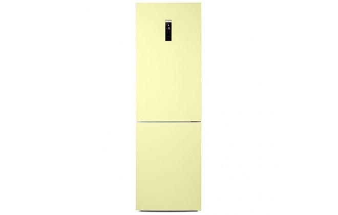 Холодильник Haier C2F636CCRG желтого цвета