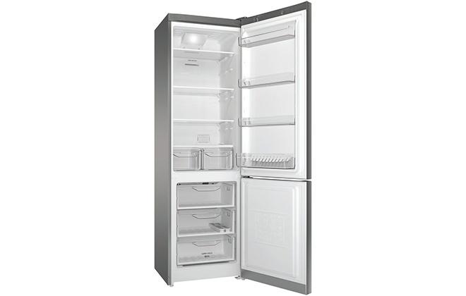 Холодильник Indesit DF 5200 S в открытом виде