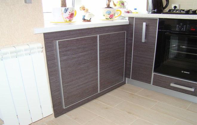 Место для хранения на кухне